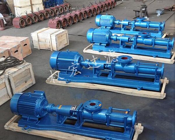 市政污水专用螺杆泵