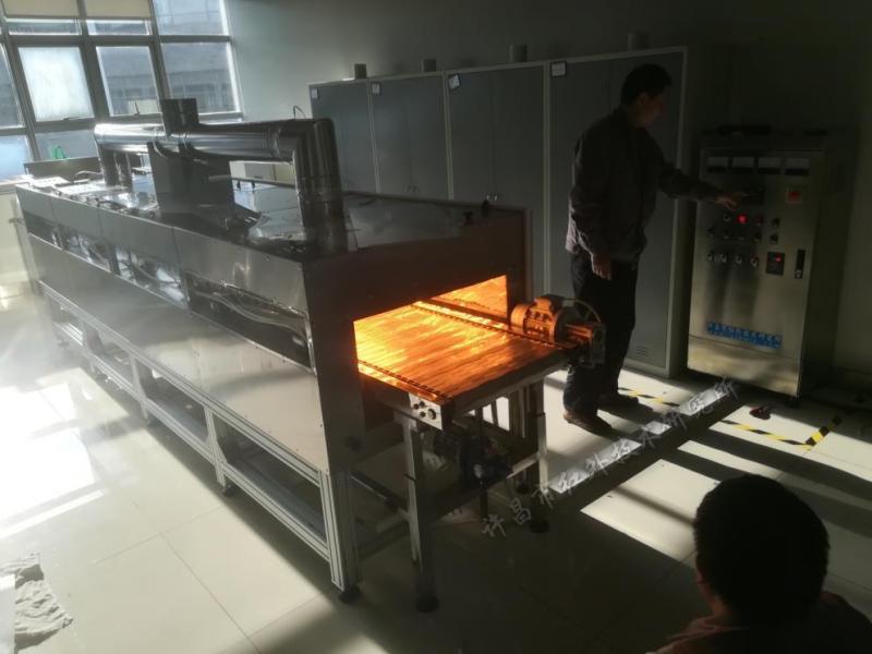 红外辐射烘干炉