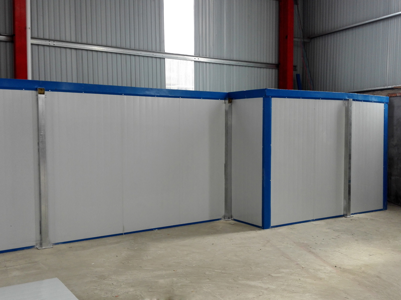 水簾噴漆房的設計特色和施工方法