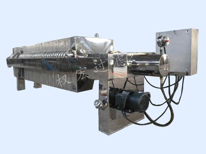 「程控压滤机厂家」压滤机工作中都会有什么现象及压滤设备过滤构件的功能