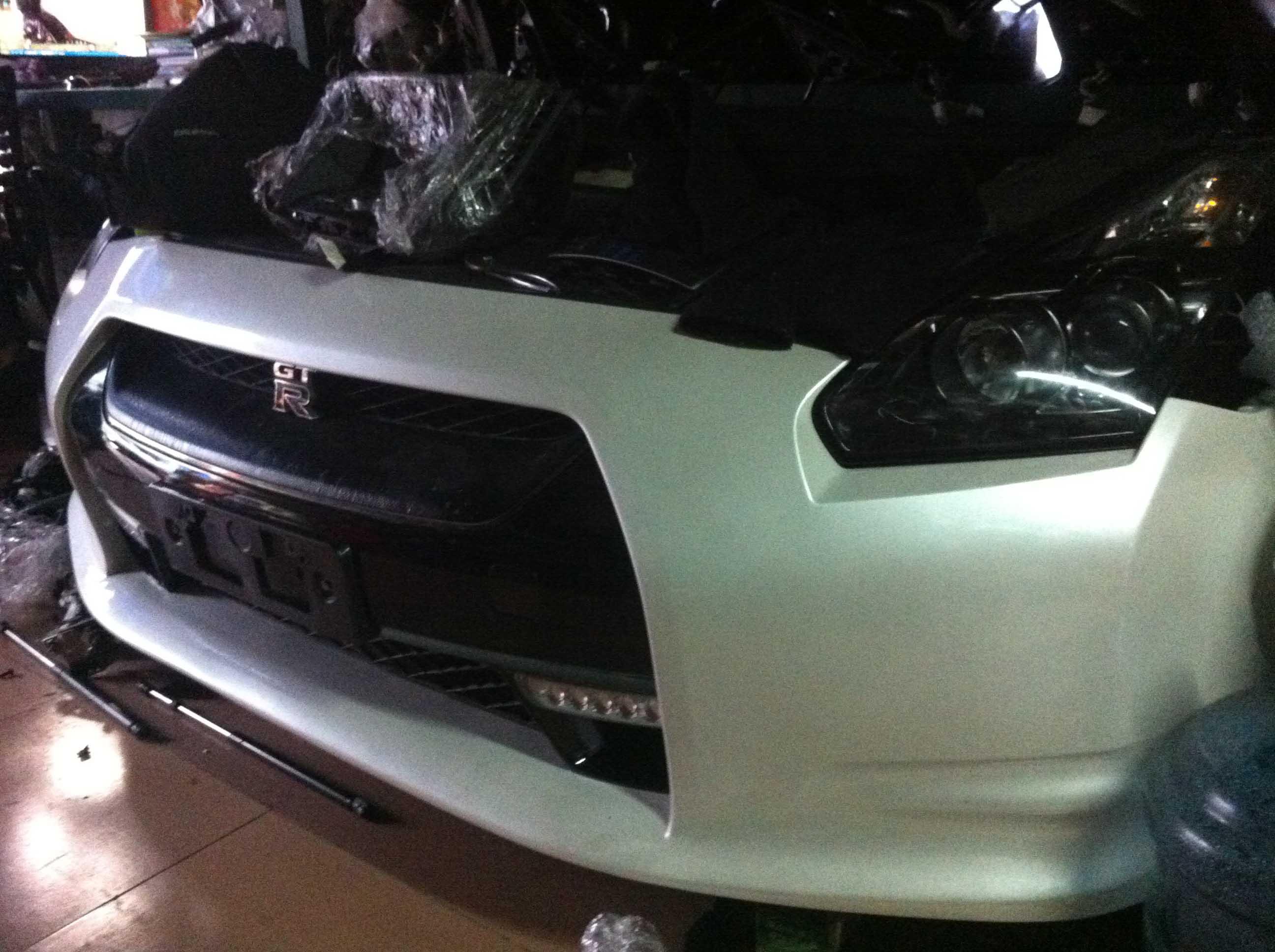 广州哪家供应的GTR汽车零件配件品质好 GTR前嘴配件提供