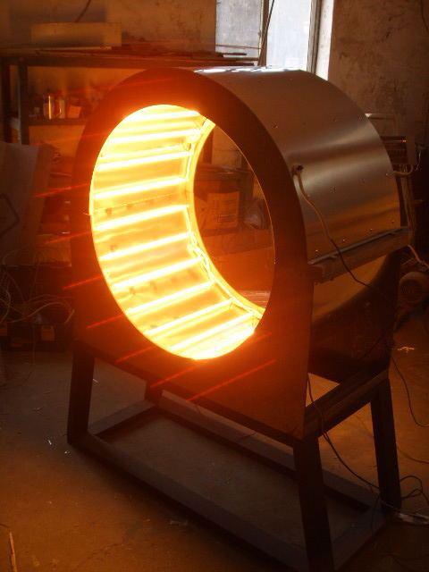 异形内表面热环境实验装置