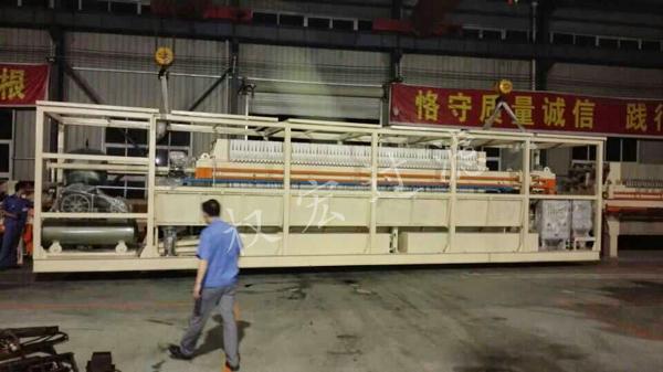 贵州程控压滤机的安装操作方法及造纸污泥污水过滤处理