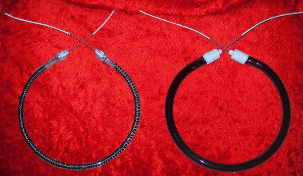 圆形-红外辐射加热管