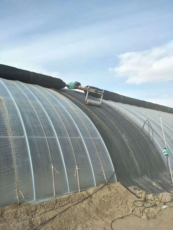 温室大棚配套卷帘机系统