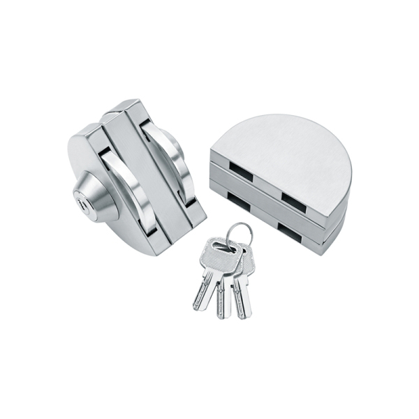 L-168 Glass door lock