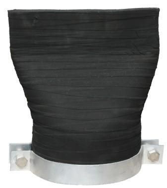 「90度软接头」橡胶软接头的耐热性是多少及保护盖起什么作用