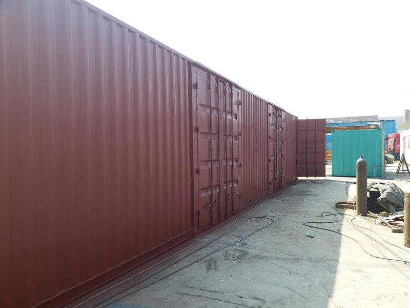 供应山东价格便宜的侧开门集装箱-海运集装箱