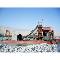 河沙采金船