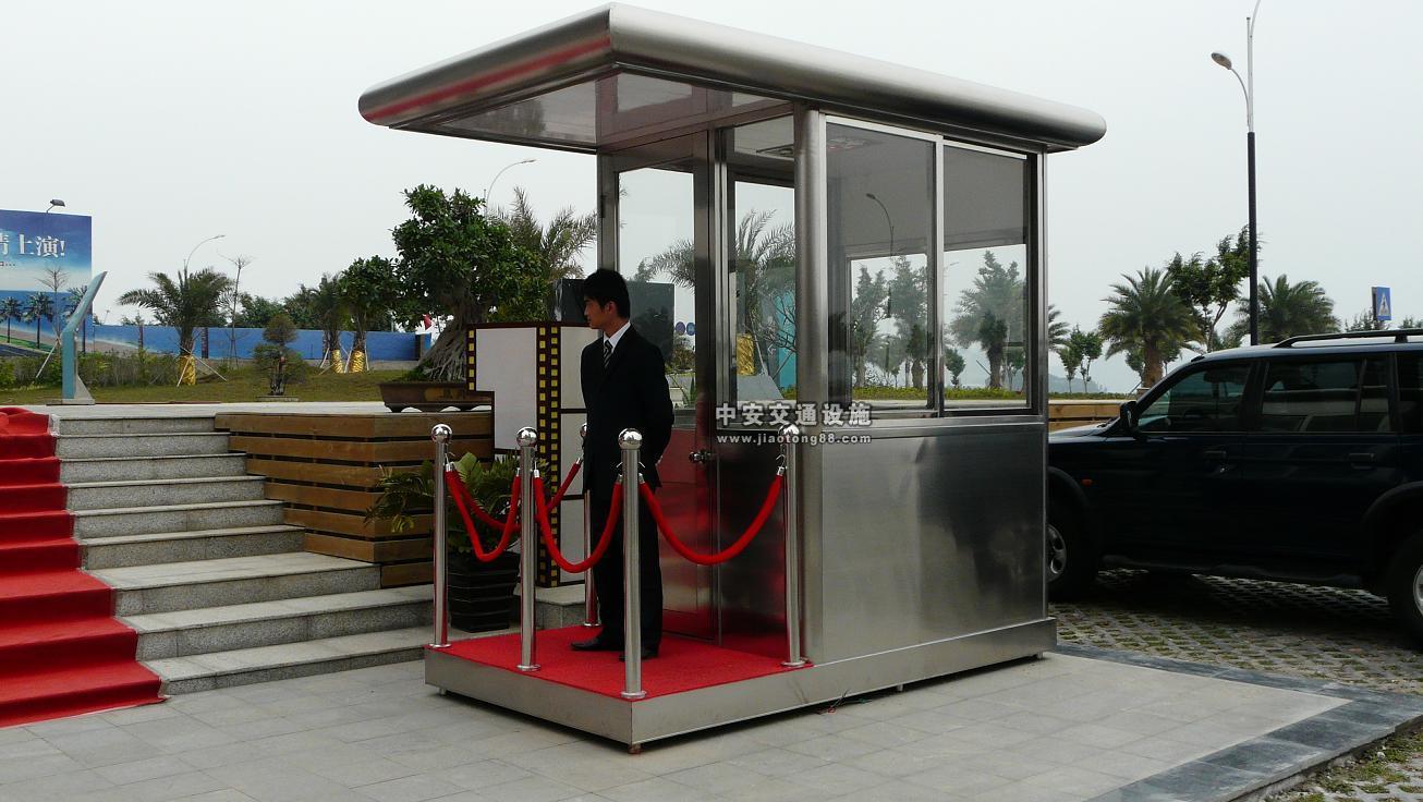 为您推荐中安电子有品质的不锈钢岗亭-郑州不锈钢岗亭
