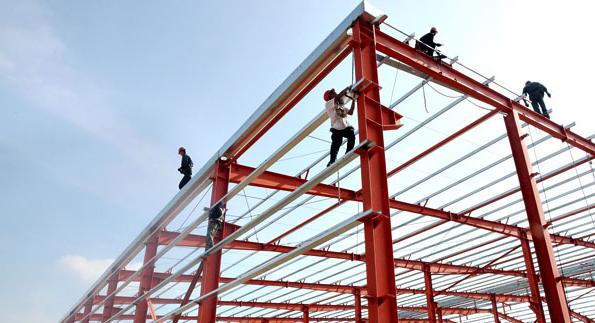 河南漯河钢结构厂房