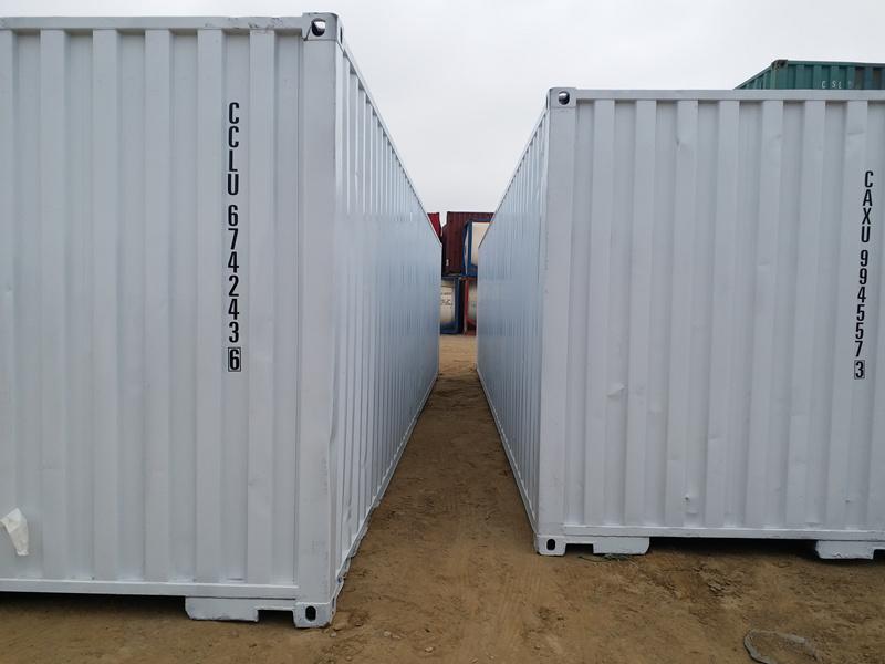 青岛高品质12米翻新定制logo集装箱批售-实用的salecontainer