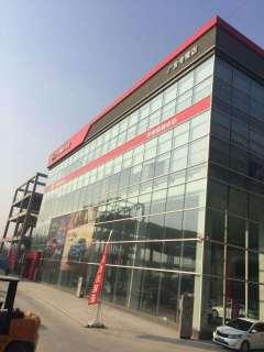 中原汽车城项目合作-安阳钢结构