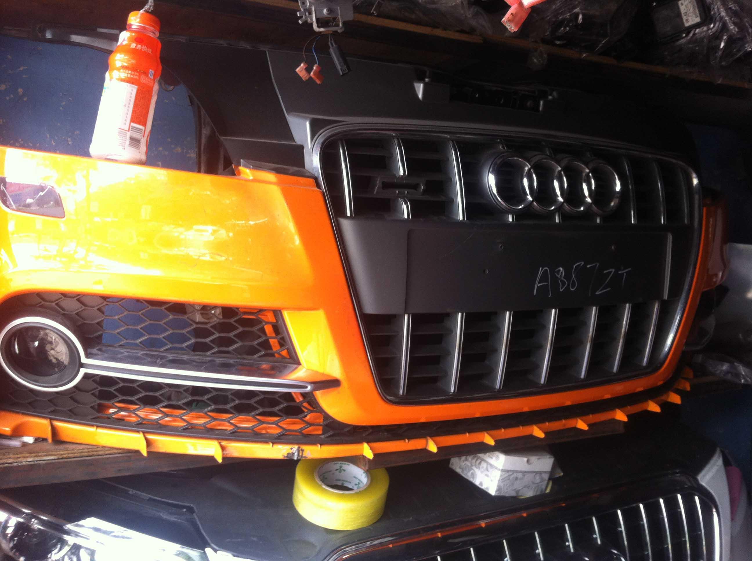 优惠的奥迪TTS前嘴配件,广东高质量保镖的奥迪TTS汽车配件销∴售