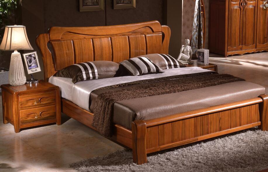 中式家具床批发