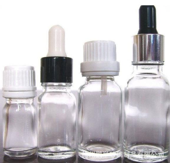 玻璃透明精油瓶