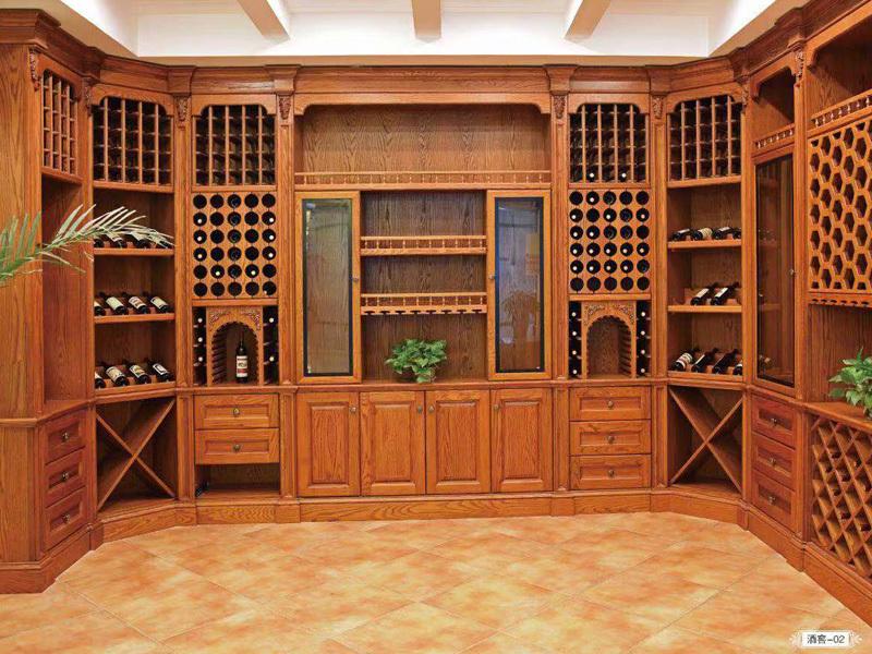 美式家装酒柜设计