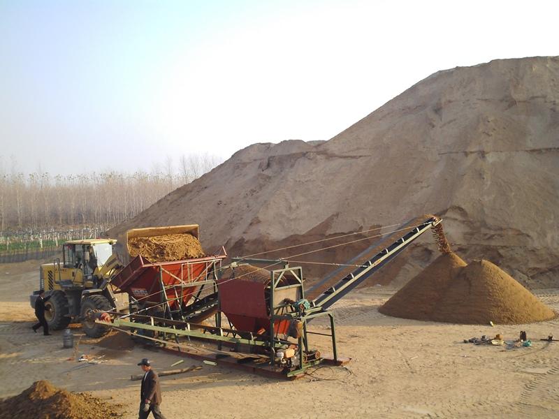 移动洗砂机,龙诺机械移动洗沙破碎机提供商