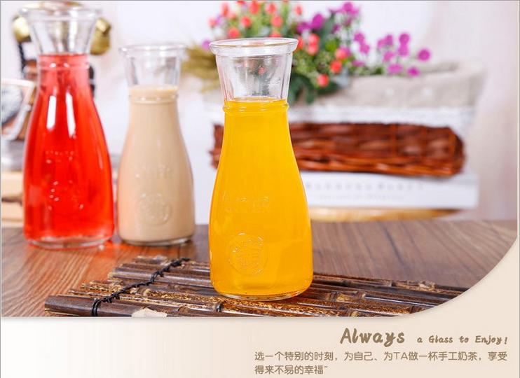 奶茶店果汁杯 饮料瓶  鲜奶瓶