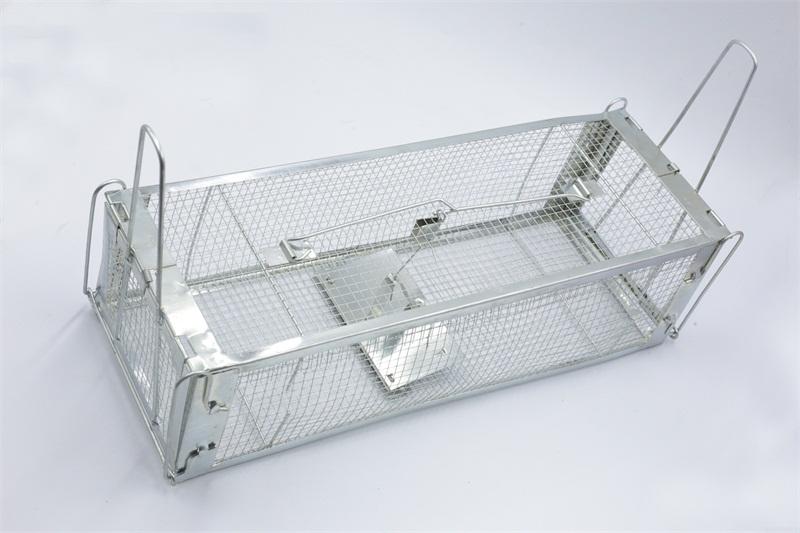 工厂捕鼠器,实惠的双门手可折型老鼠笼,捷锐铁线制品倾力推荐