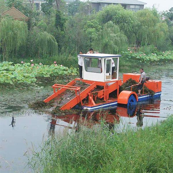 电动割草船
