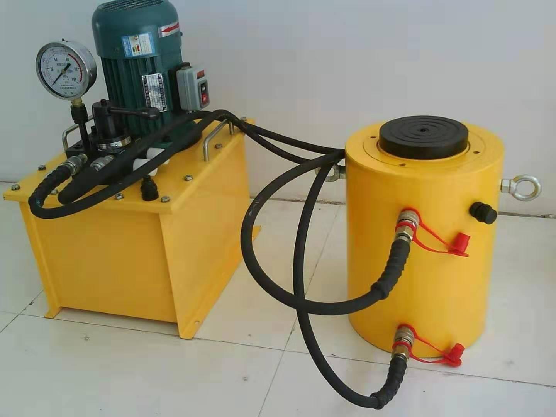 山东声誉好的空心液压千斤顶供应商是哪家 天津空心液压千斤顶直销