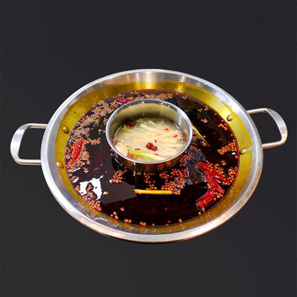 重庆鲜货火锅-骨汤+麻辣