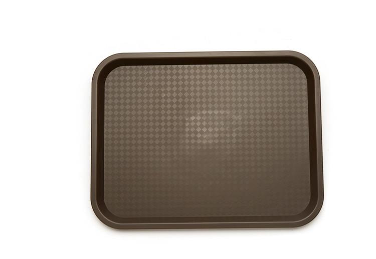 餐飲塑料托盤-品質好的小號托盤yuefs002棕色行情價格