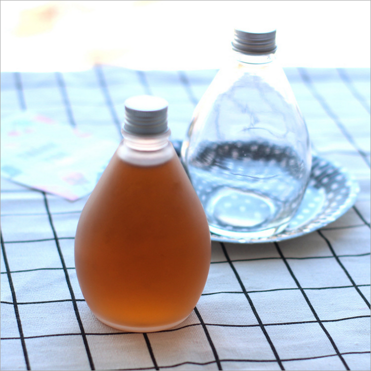 350ml大肚水滴造型饮料瓶