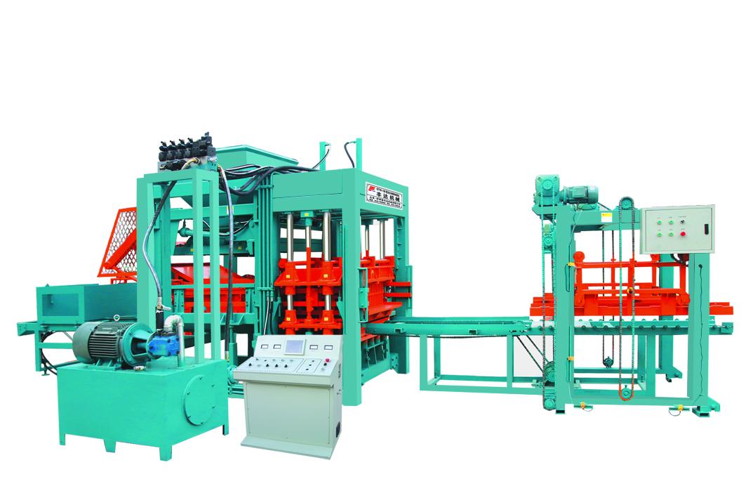 漳州砌块成型机,临沂品牌好的QTY6-12A型全自动砌块成型机公司