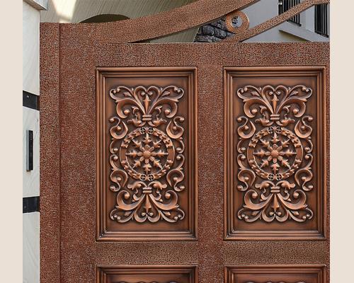 别墅铜门厂家|广州高品质铜门批售