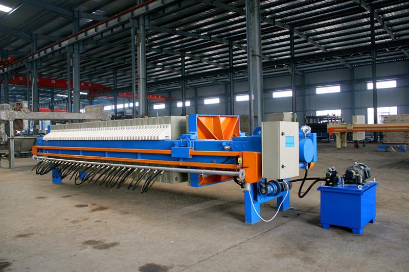 板框壓濾機提高工作效率及处理能下降的方法