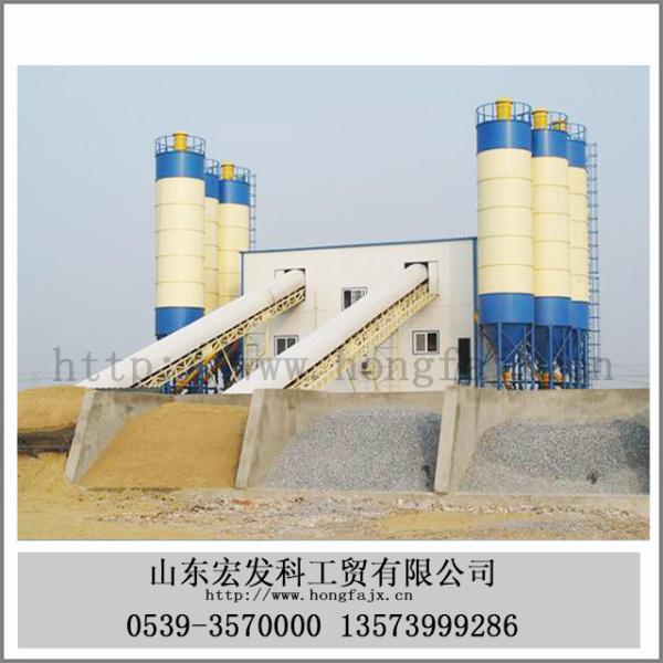 HZS100混凝土水泥搅拌站(100立方小时