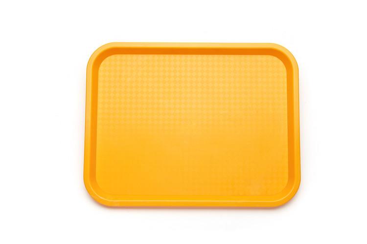 肇慶哪里有供應好用的小號托盤yuefs001黃 自助快餐托盤