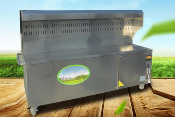 如何清洗无烟环保净化烧烤车