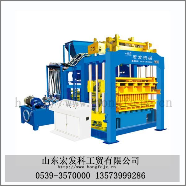 QT12-15大型砌块成型机
