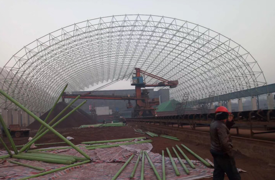承接各种钢结构网架施工