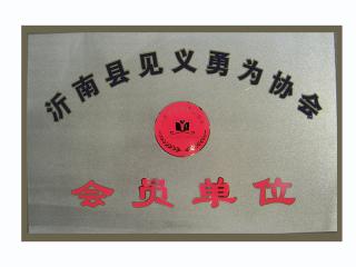 沂南县见义勇为协会 会员单位