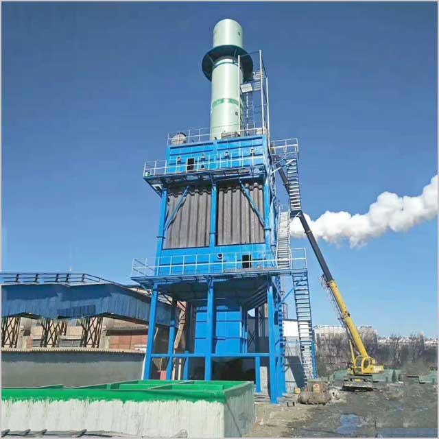 湿式静电除尘设备工作流程