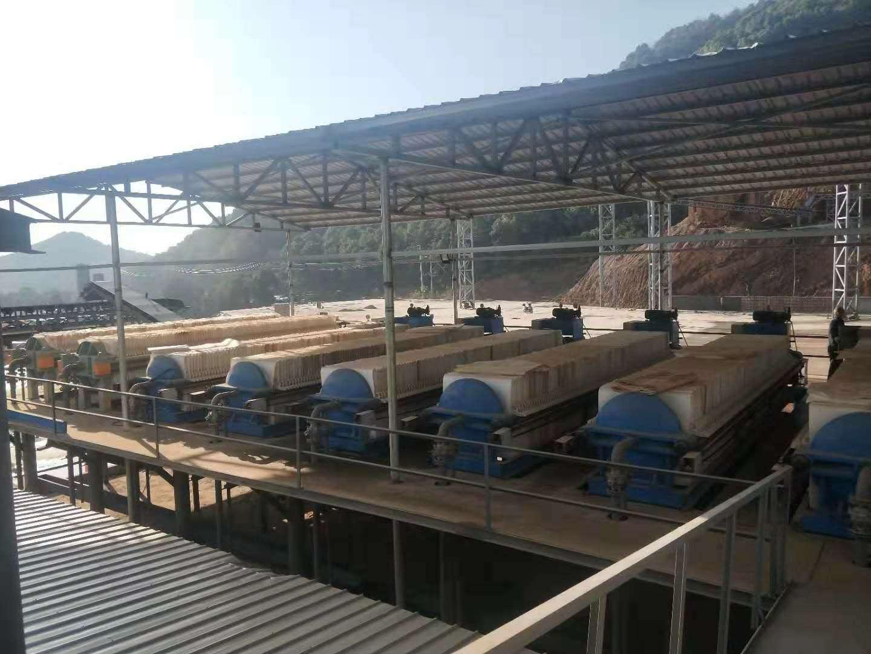 河南板框压滤机使用现场
