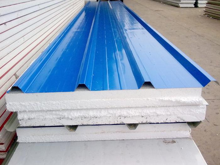 彩钢夹芯板 彩钢压型复合板