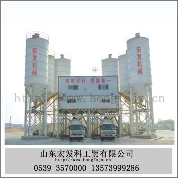 HZS120混凝水泥土搅拌站(120立方/小时)