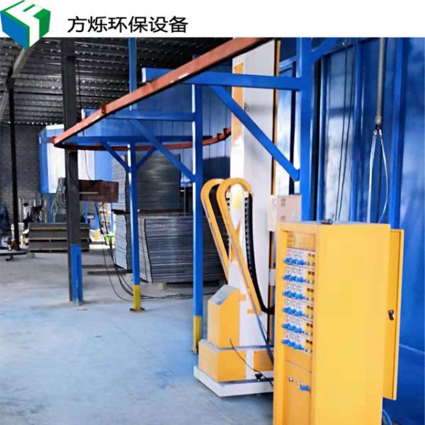喷塑粉高温固化流水线安装
