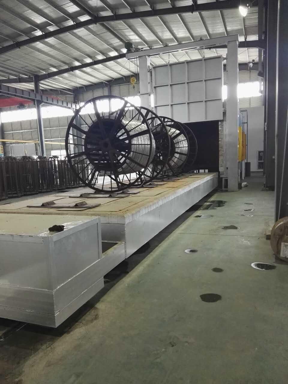九鼎工业炉质量可靠的铝合金线缆时效炉出售,专业的铝合金棒材退火炉
