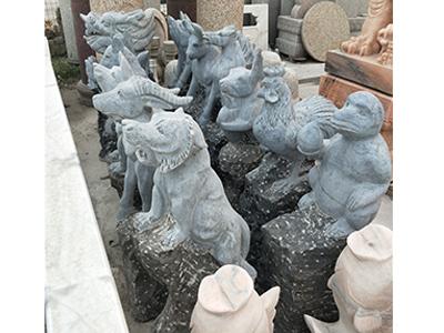 哪里有石雕12生肖供应批发|天津石雕12生肖价格