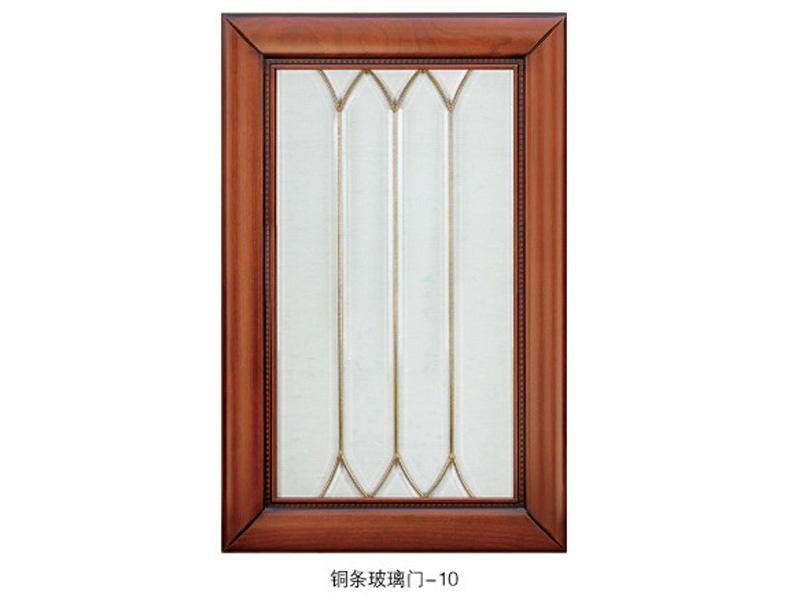 铜条玻璃门2