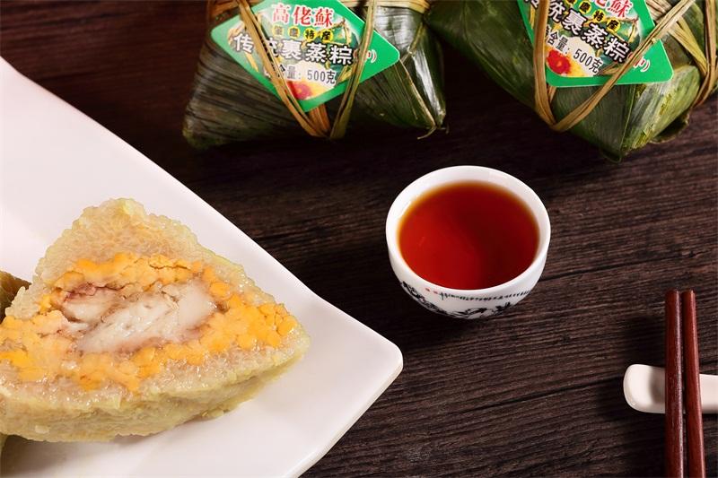 当地正宗粽子,买中传统裹蒸粽就来高?#20852;展?#33976;粽