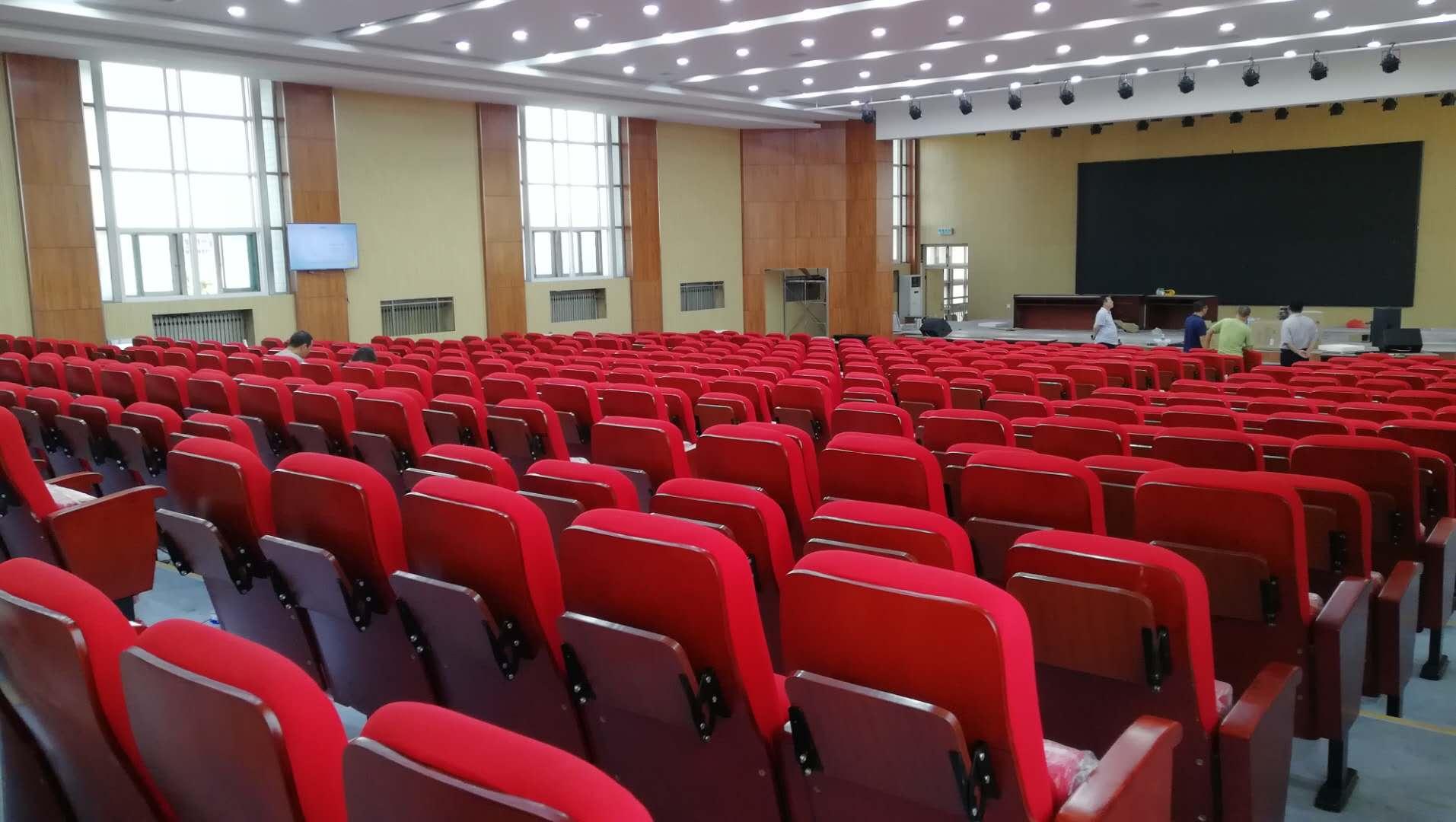 中国红—礼堂椅