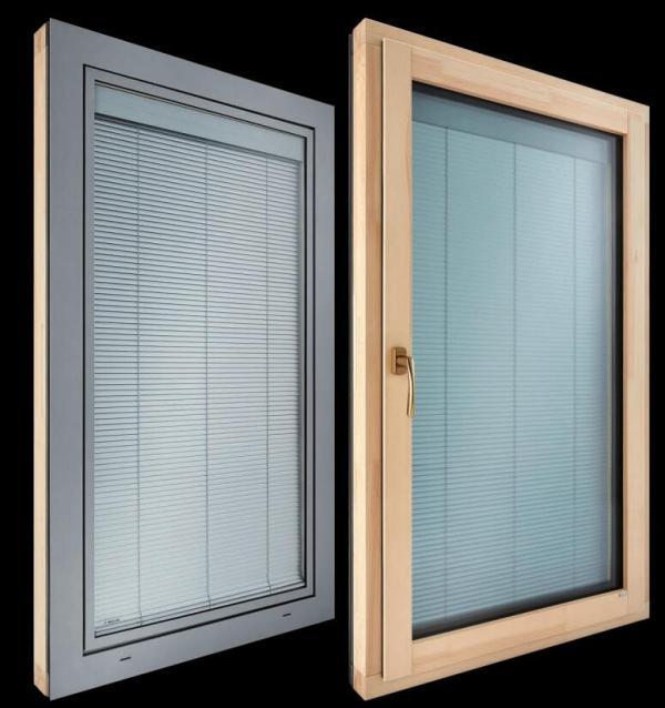创新静音遮阳门窗