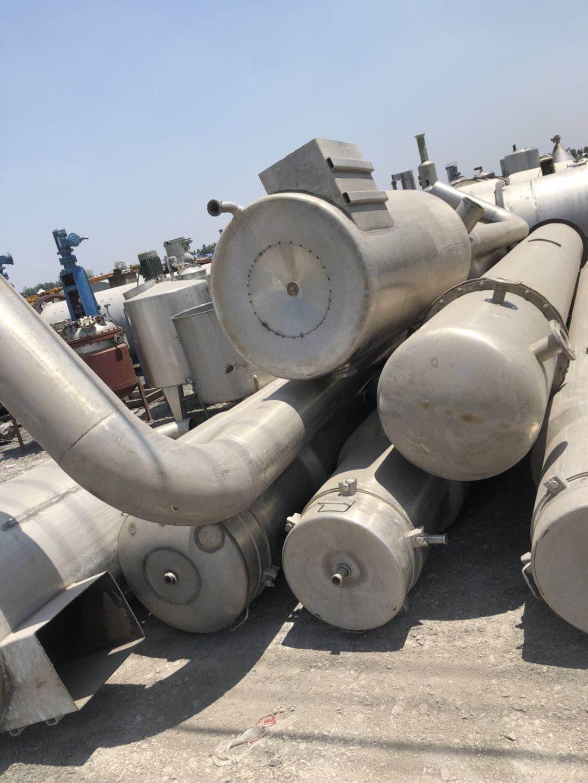 山东二手蒸发器市场 二手双效蒸发器